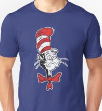 The Grumpy Cat in the Hat Unisex T-Shirt