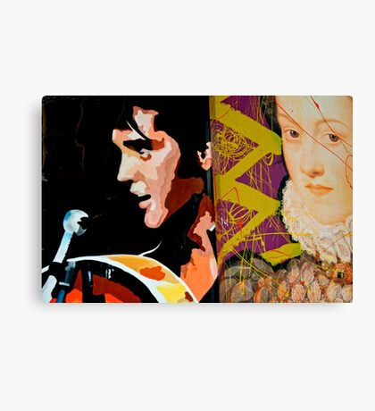 The King & Queen  Canvas Print