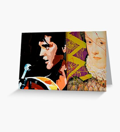 The King & Queen  Greeting Card