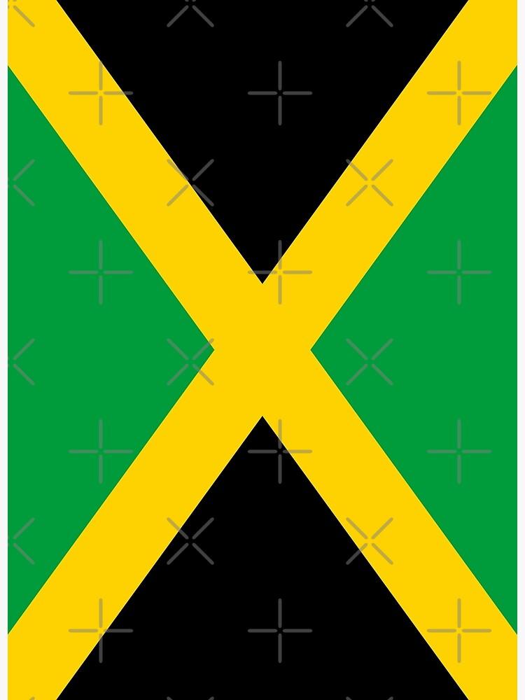 Jamaica Flag by stoopiditees