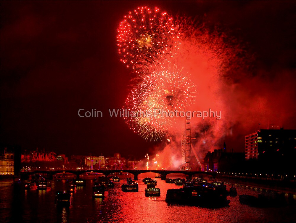 Goodbye 2012 From London - HDR by Colin  Williams Photography