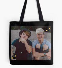 Kian and Jc Black Hearts Tote Bag