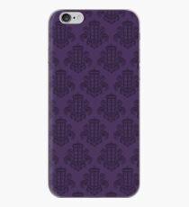 Tardis Damask - Purple iPhone Case