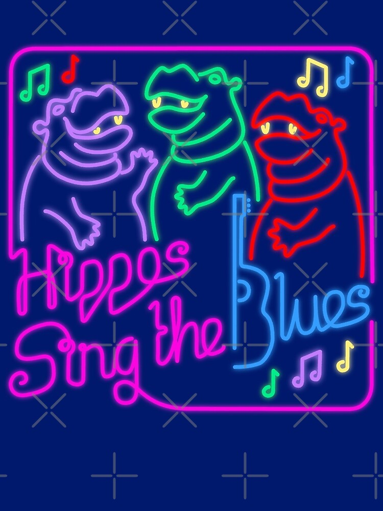 Hippos Sing the Blues by Hippopottermiss