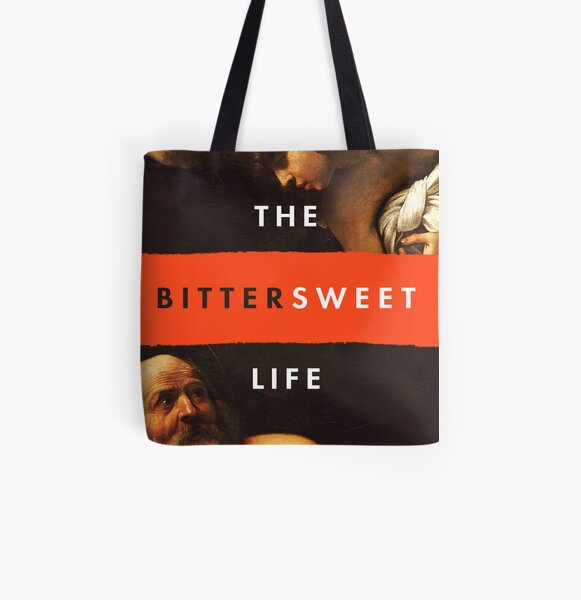 """""""The Bittersweet Life"""" Podcast Square Logo All Over Print Tote Bag"""