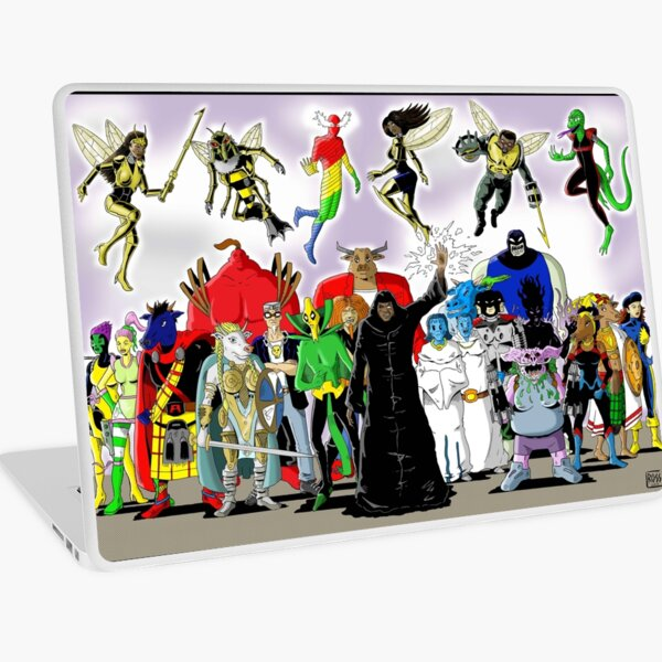 Hiro Unlimited Villains Laptop Skin