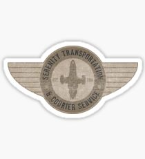 Serenity Transportation & Courier Service Sticker