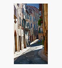 Quiet Street Photographic Print