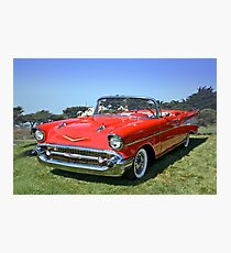 1957 Chevrolet Bel Air Convertible II Photographic Print