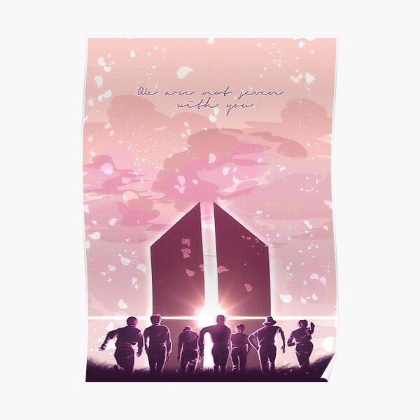 BTS | Nous ne sommes pas 7 avec toi Poster