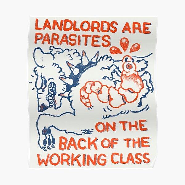 Los propietarios son parásitos Póster