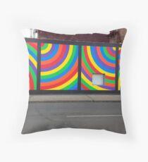 Everyday Rainbow Throw Pillow