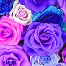 Colorful Roses Pattern by artonwear