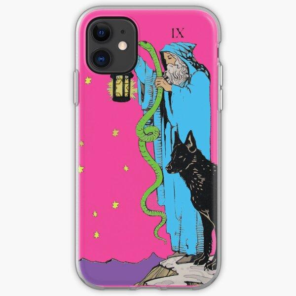 Tarot the hermit iPhone Soft Case