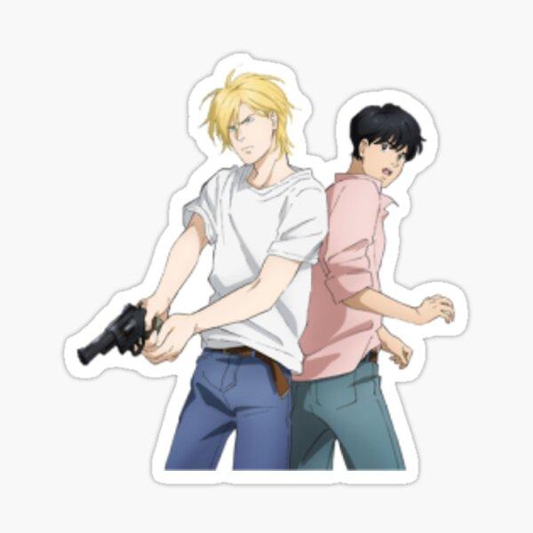 Ash and Eiji from Banana Fish  Sticker