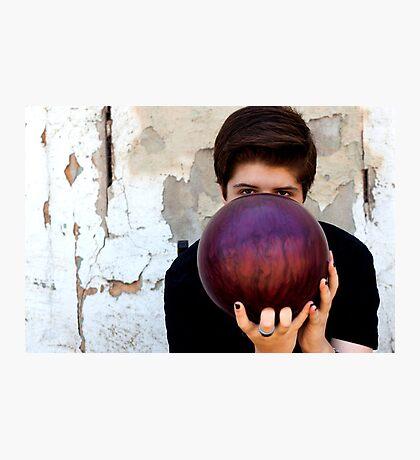 Bowling ball Photographic Print