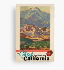 Vintage poster - California Canvas Print