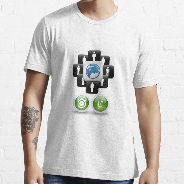 Open Science Main Design Essential T-Shirt