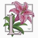 L is for Lily - patch by Stephanie Smith