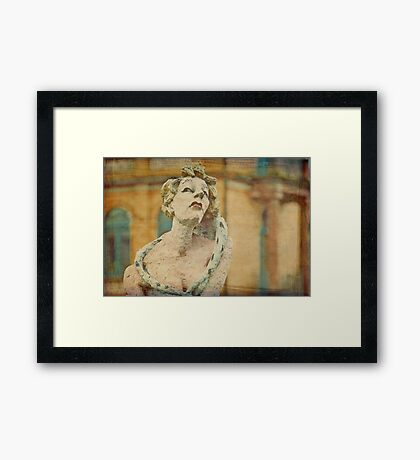 Drama Queen Framed Print