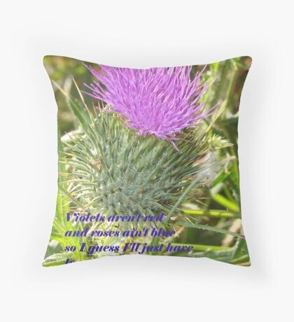 Thorny Valentine Throw Pillow