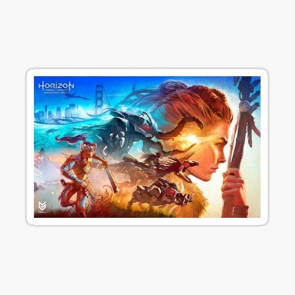 Horizon Forbidden West poster Sticker