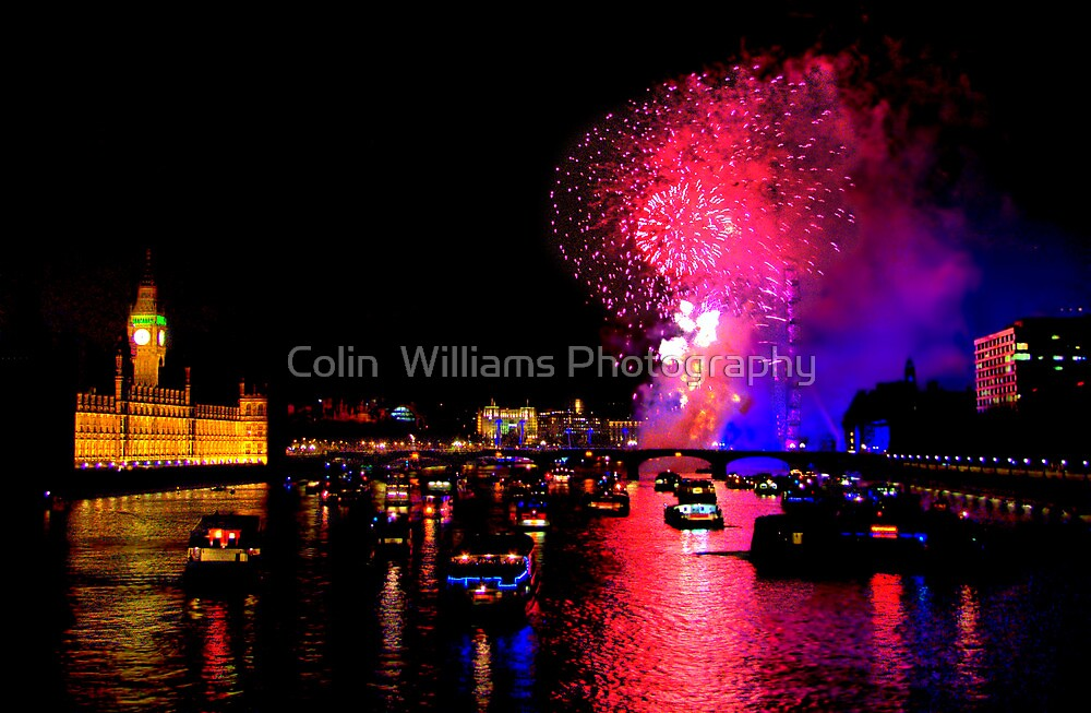 Goodbye 2012 From London 2 - HDR by Colin  Williams Photography