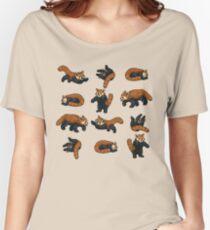 Red Pandas Women's Relaxed Fit T-Shirt