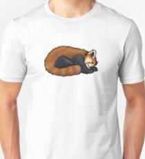 Red Panda sleeping Unisex T-Shirt