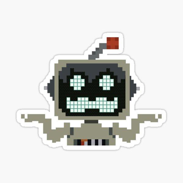 Grumbot (Full Shrug) Sticker