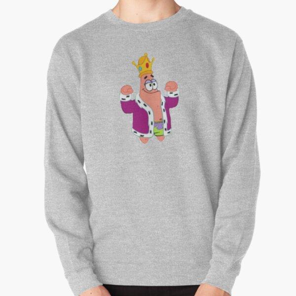 King Patrick Star  Pullover Sweatshirt
