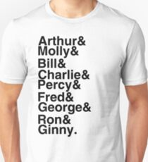 The Weasleys T-Shirt