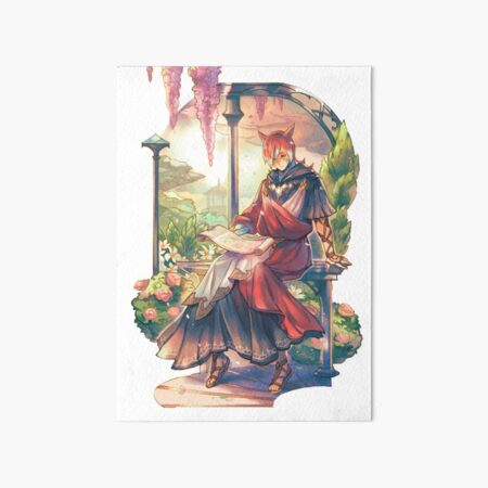 Crystal Exarch - In His Garden Art Board Print