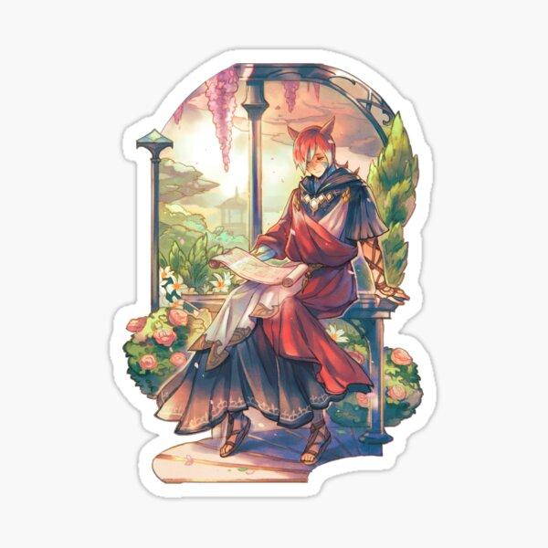 Crystal Exarch - In His Garden Sticker