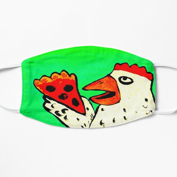 CHICKEN WITH PIZZA Mask
