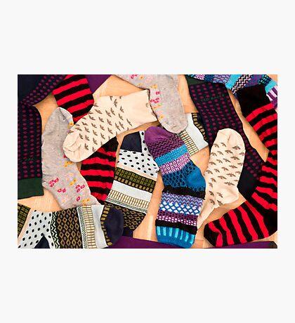 Christmas Socks Photographic Print