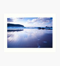 Torrisdale Beach - Highlands of Scotland Art Print
