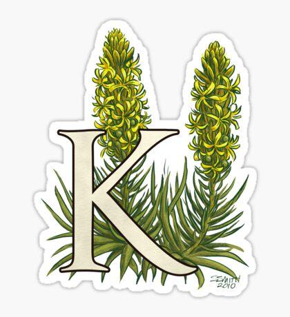 K is for King's Spear Sticker