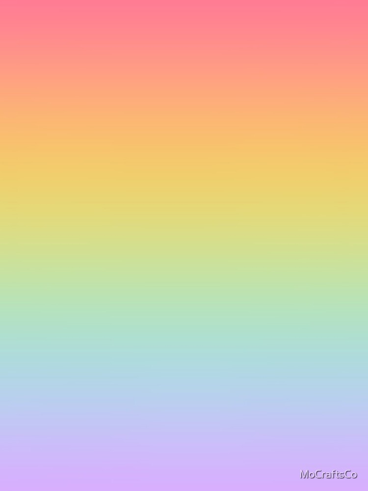 Pastel Rainbow Ombré  by MoCraftsCo