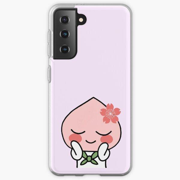 Sakura Apeach - Kakao Friends Apeach  Samsung Galaxy Soft Case