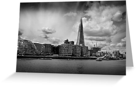 The Thames, The Shard and City Hall by EdPettitt