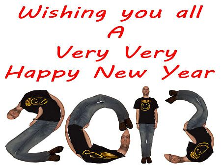 Happy New Year 2013  by yampy