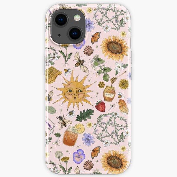 Litha Pattern- Pink iPhone Soft Case
