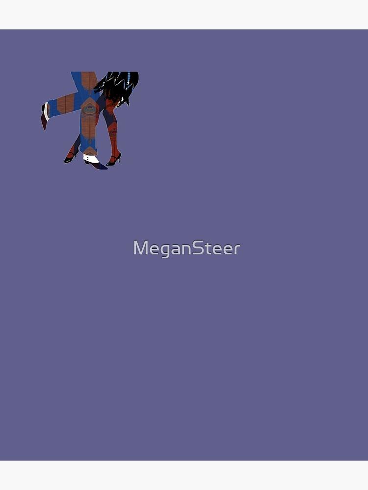 Art Deco Dancers by MeganSteer