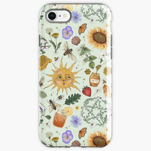 Litha Pattern- Green iPhone Tough Case
