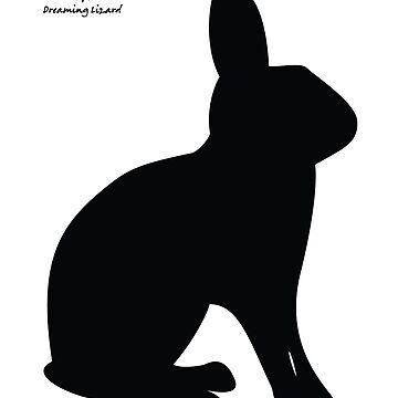 Britannia Petite Rabbit Silhouette by DreamingLizard