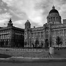 The Three Graces, Liverpool by Colin Shepherd