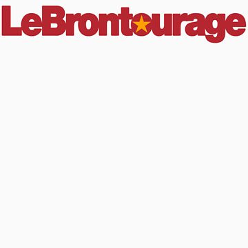 LeBrontourage│Red & Gold by JoeIbraham