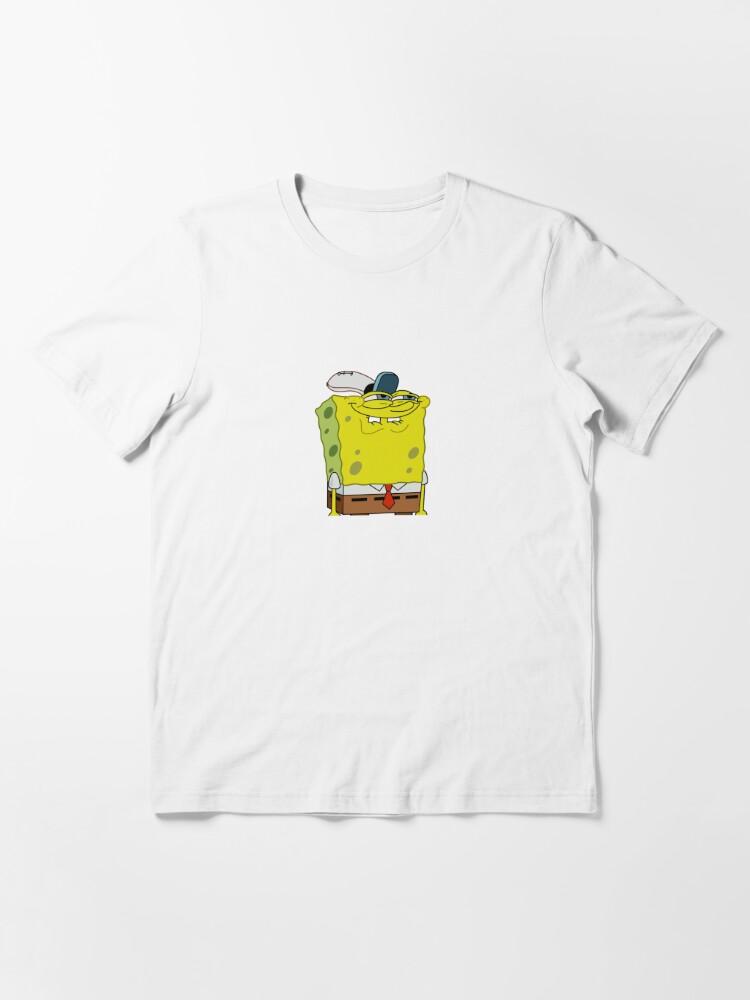 """Spongebob Grin Meme"" T-shirt by MemeShoppp | Redbubble"