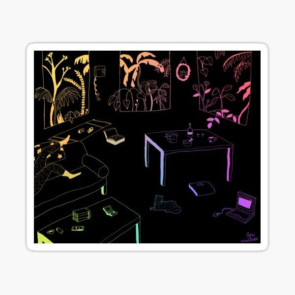 """Self Isolation"" (2020) Sticker"